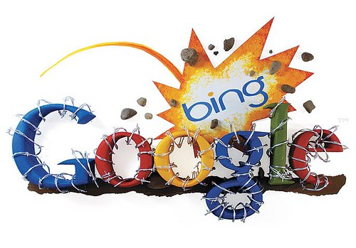 Bing trying to challenge Google | by michperu
