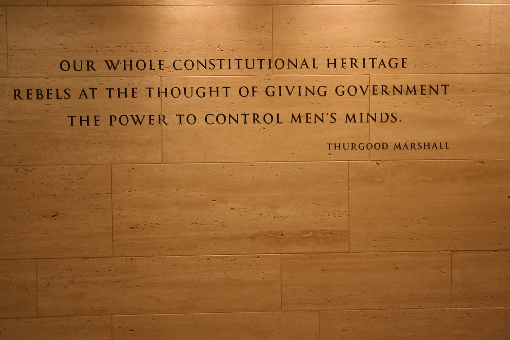 Thurgood Marshall Quote Our Whole Constitutional Heritage Flickr Beauteous Thurgood Marshall Quotes