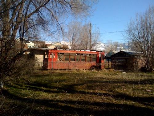 Abandoned abandoned trolley car salt lake city ut we spo flickr for Garden city ghost car