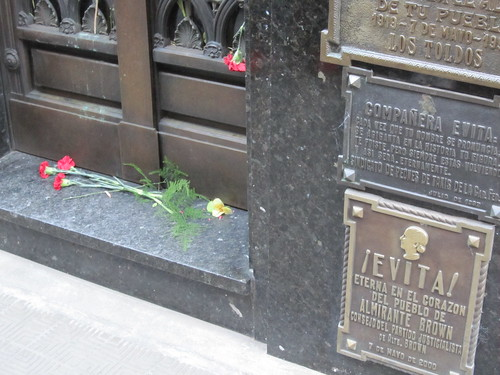Buenos Aires - Recoleta Cemetary - Evita Grave | by SeppySills