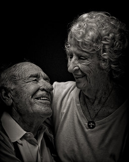 Husband and Wife at Age 92 | by David Blackwell.