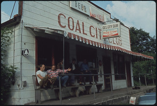 Coal City Club in Coal City, West Virginia, a Part of Beckley All of the Men Are Coal Miners 06/1974 | by The U.S. National Archives