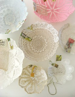 working on doily whatnots... | by dottie angel