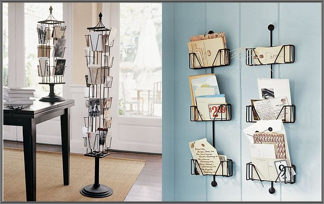 Postcard Display | shirley shirley bo birley Blog | Pottery Barn, photo display, postcard display
