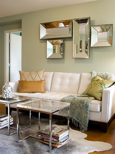 ... Light Green Living Room | By Decorology