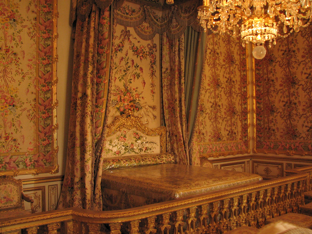 Palace of Versailles   Queen  39 s Bedroom   by  Checco