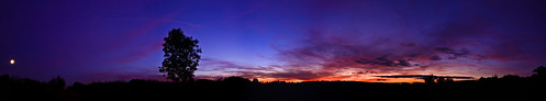 Sunset/Moon Rise Panorama | by Dkillock