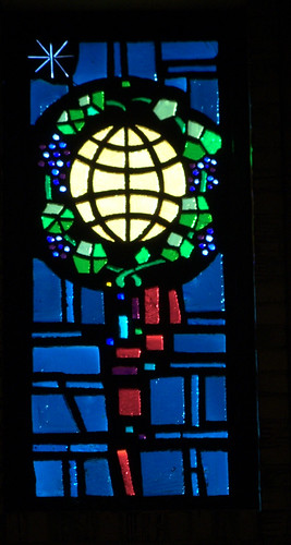 Oak Cliff Presb world stained glass