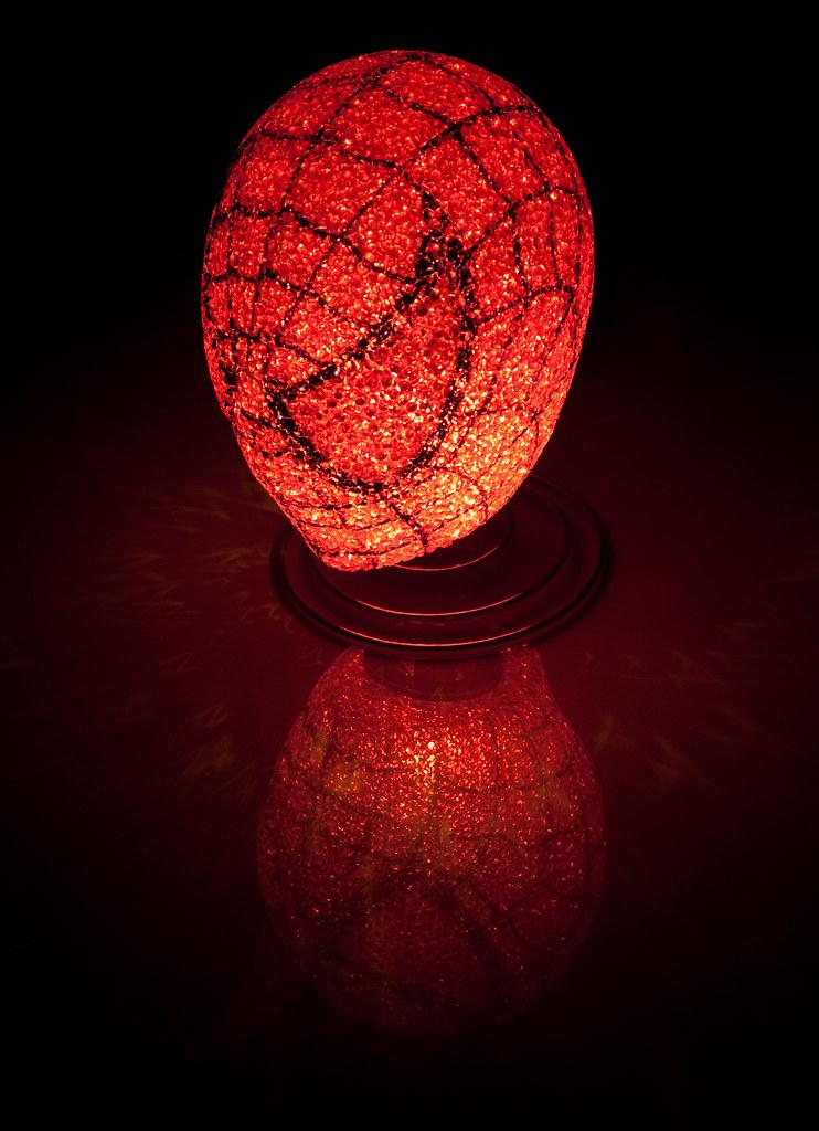 Spiderman Lamp | By Gfairchild Spiderman Lamp | By Gfairchild