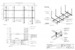 Catwalk Example Shopdrawing Designed For A Multimedia