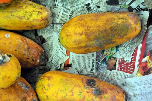 Papaya - Mekong Delta | by The Hungry Cyclist
