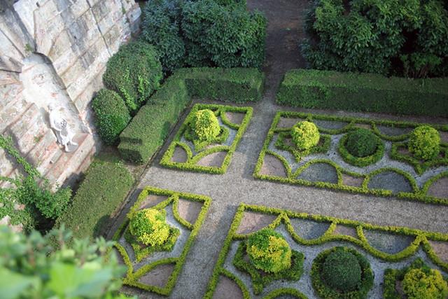 Jardín en Villa Reale