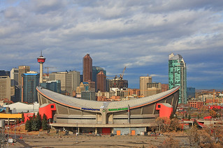 The Saddledome, home of the Calgary Flames. | by minniemouseaunt