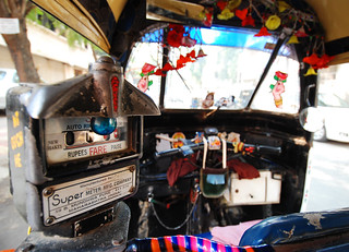 rickshaw in Mumbai | by ste delarge