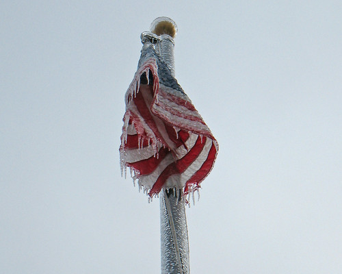 Frozen Flag | by timpeartrice