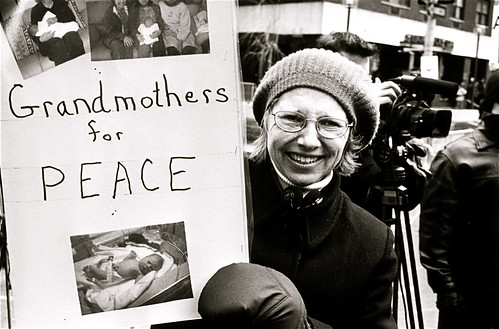 Grandmothers for Peace, February 2003