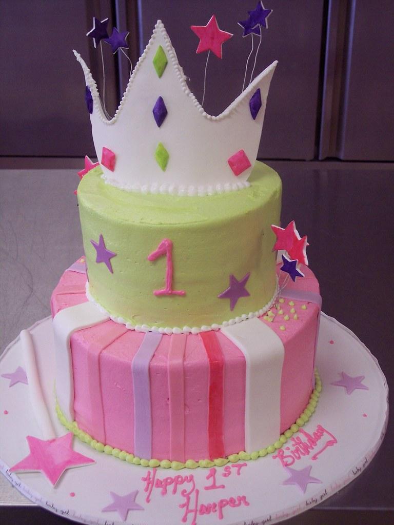 Princess Cake Ist Birthday Wilmington Nc Carolina Cakes Flickr