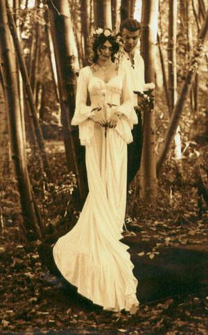 Edwardian wedding gown | Stunningly simple Edwardian-style w… | Flickr