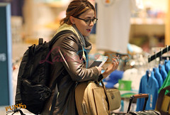 Nikki Reed leaving Vancouver | by Luuuucia:)