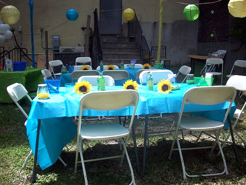 ... Baby Shower Table Setup | By Eventsbytiffany