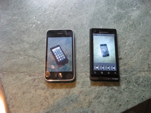iPhone and DROID side-by-side | by scriptingnews