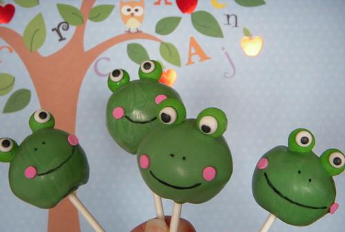 D Frog Cake Pan