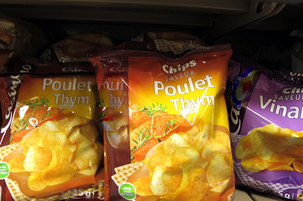 Poulet Thyme chips | by David Lebovitz