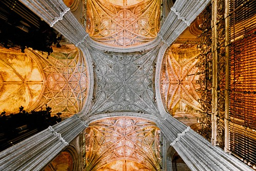 Spain - Seville  - Cathedral Interior | by Darrell Godliman
