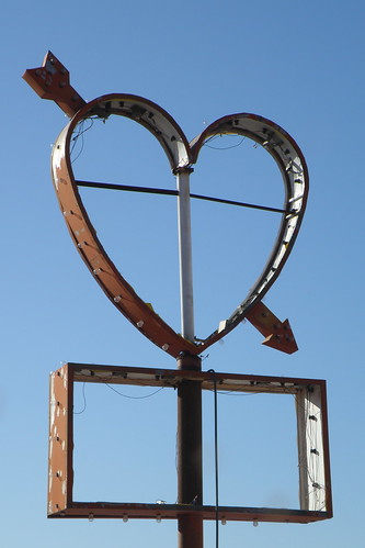"""LOVE"" this old sign. 