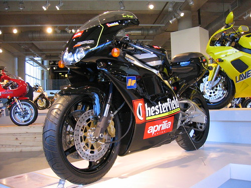 Aprilia RS250 Chesterfield 2 stroke | by Daniel Crouch