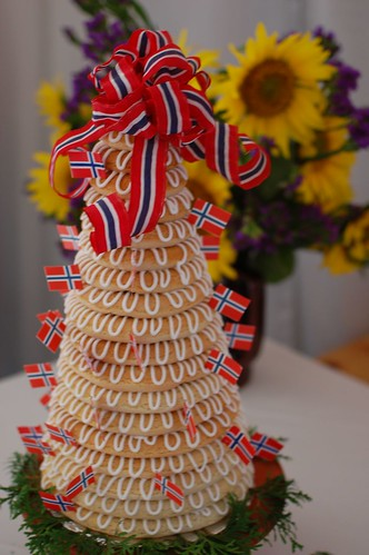 Kransekake Wedding Cake
