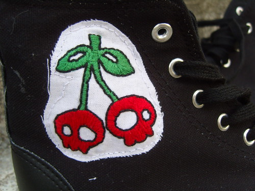Cherry Shoes Close Up | by torrance*