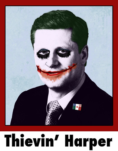 Thievin' Stephen Harper Joker | by davegtv