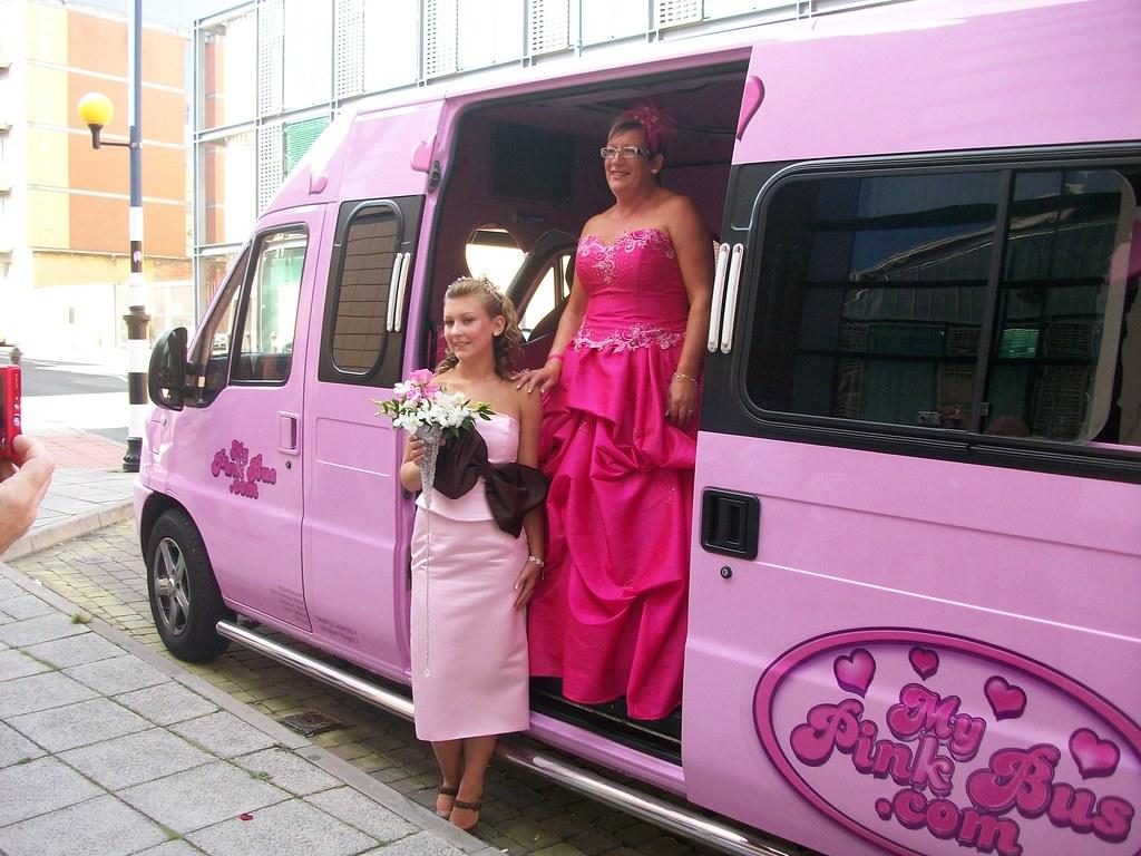 Mypinkbus.com Pink Party Limo Bus Wedding Car Hire Birming…   Flickr