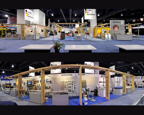 Exhibition Booth Usa : Exhibition stands usa german trade show exhibitor pavili