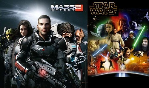 Mass Effect vs. Star Wars | by shane_akos