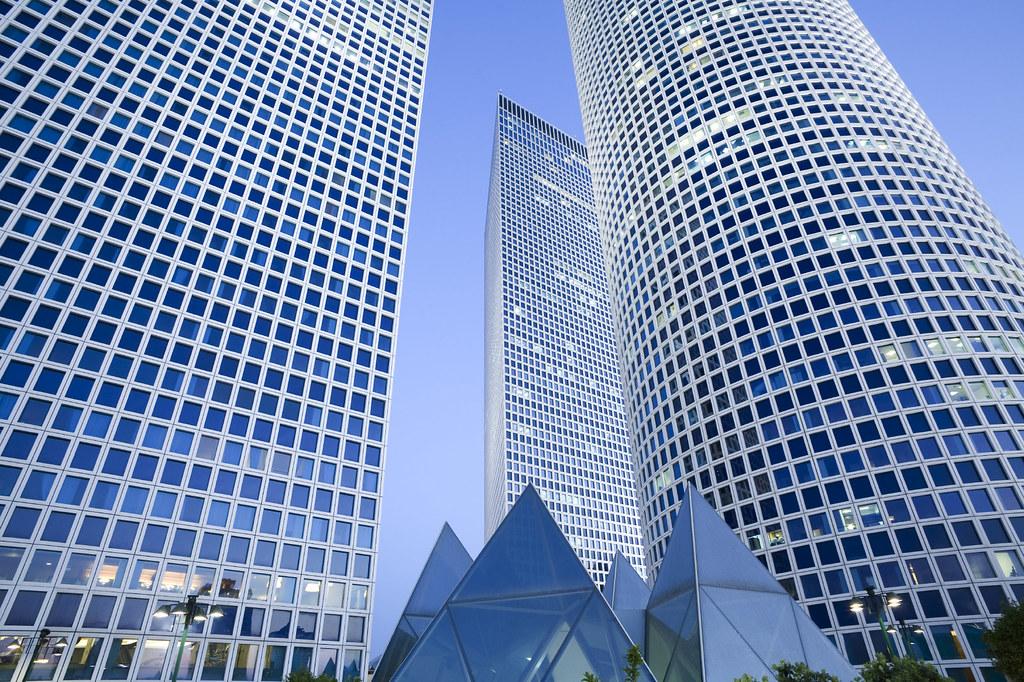 Skyscrapers in Tel Aviv