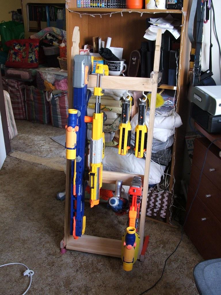 Nerf Gun Rack backing board – White Faced Perforated Hardboard / Pegboard  2440 x 1220mm   Chiltern Timber