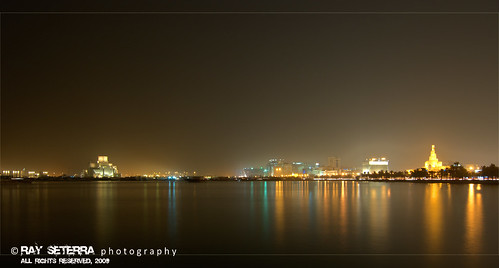 Doha at Night | by ghost_xxx a.k.a. [ r a y ]