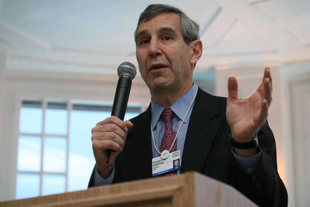 Richard Edelman, head of Edelman PR