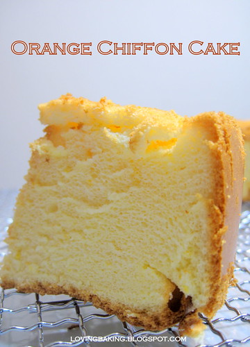 Orange Chiffon Cake Frosting