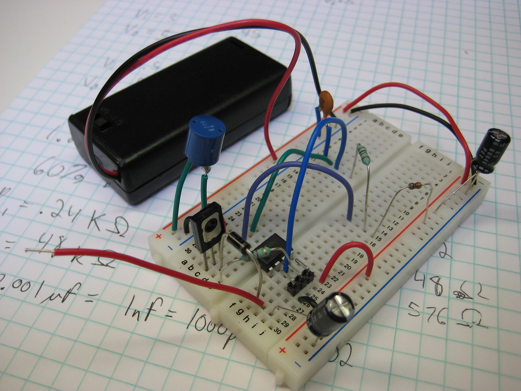 555 Timer Boost Converter I Built A Out Of Flickr Do It Yourself Thunderhammer3000 By