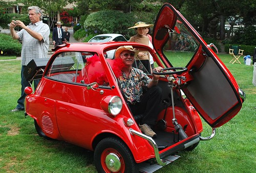 One Seater Car >> BMW Isetta single-seat car | The parasol really makes it. Fo… | Flickr