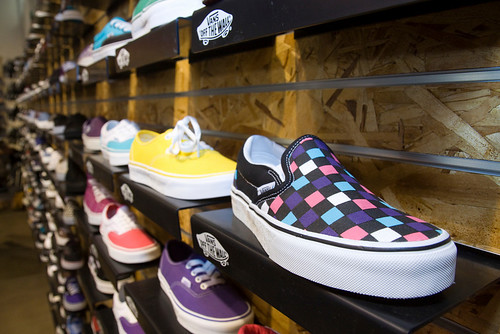 Colorful Vans Shoes | by Michael Zampelli