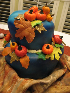 Fall Theme Birthday Cake | by kimberlykv