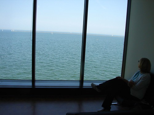 resting at the Milwaukee Art Museum | by The Shifted Librarian