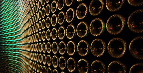 Wall of Wine - Chandon Winery | by Julie, Dave & Family