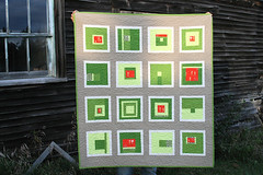 modern munki munki martian quilt | by filminthefridge