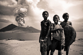 Rabaul Volcano Kids | by Chris.P