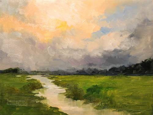 Oil Painting Impressionism Tutorial